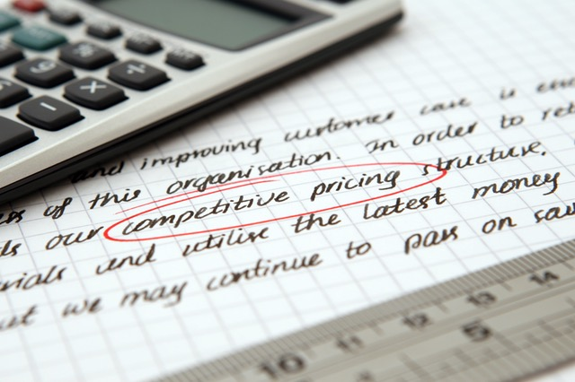 Competitive pricing is an important part of market research