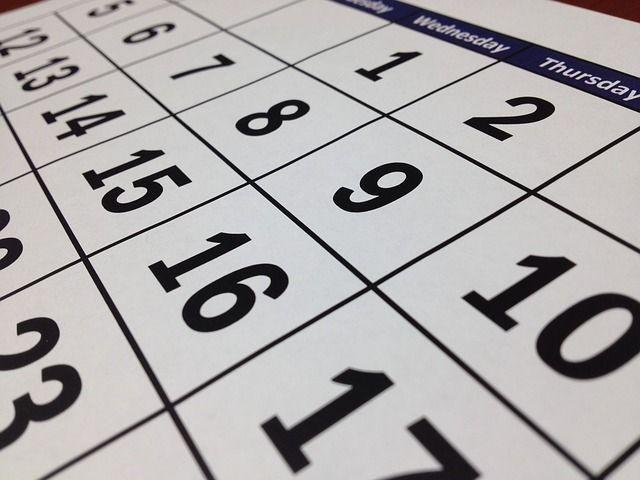 Image is a calendar