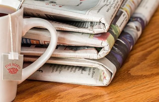 Image of several newspapers