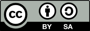 Creative Commons ShareAlike with Attribution license logo