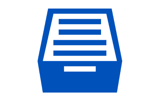Image of a file cabinet with file folders